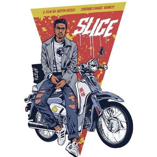 """""""Slice"""" promotional poster by Alexander Iaccarino."""