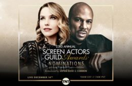 sophia bush, common, screen actors guild awards