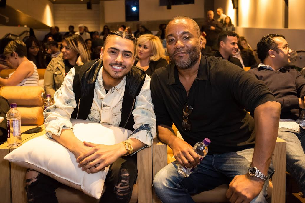 Quincy Brown & Executive Producer Lee Daniels at screening for STAR at Neuehouse Hollywood. CR: Willy Sanjuan/Fox