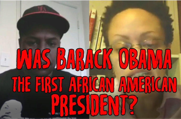 first african american president