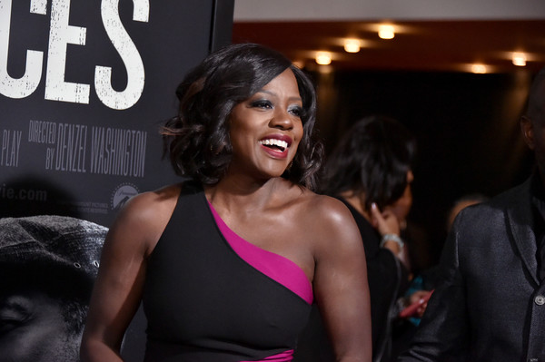 """Viola Davis attends the """"Fences"""" New York Screening at Frederick P. Rose Hall, Jazz at Lincoln Center on December 19, 2016 in New York City."""