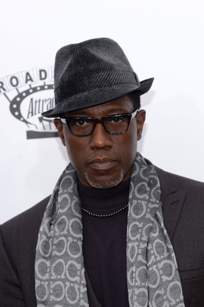 """Actor Wesley Snipes attends the """"CHI-RAQ"""" New York Premiere at Ziegfeld Theater on December 1, 2015 in New York City."""