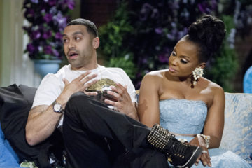 "THE REAL HOUSEWIVES OF ATLANTA -- ""Reunion"" -- Pictured: (l-r) Apollo Nida, Phaedra Parks -- (Photo by: Wilford Harewood/Bravo/NBCU Photo Bank via Getty Images)"