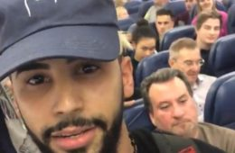 YouTube star Adam Saleh being escorted off his Delta Airlines flight