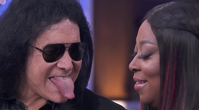 gene simmons son tongue. gene simmons son tongue d