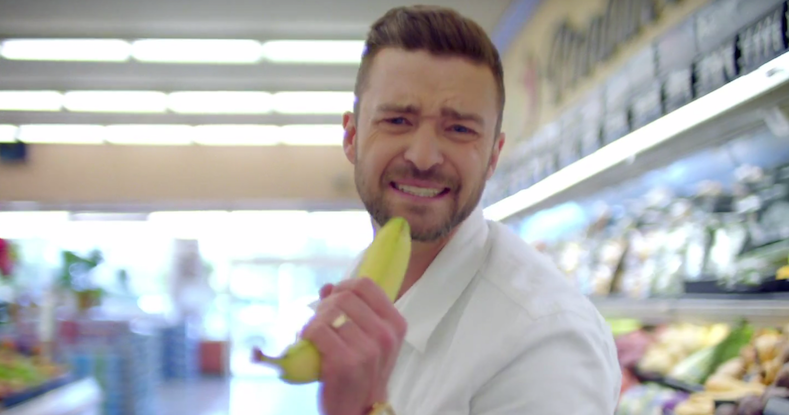 """Justin Timberlake in video for """"Can't Stop the Feeling'"""
