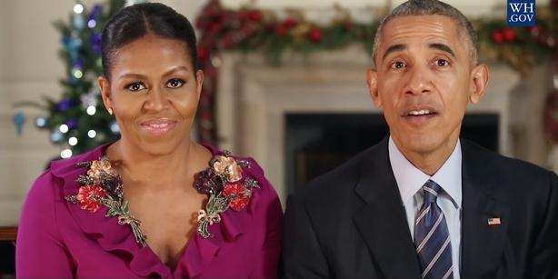 Former President Obama surprises former First Lady Michelle Obama with video
