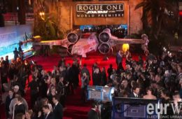 Rogue One: A Star Wars Story red carpet