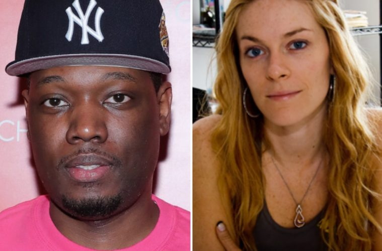 Michael Che and Leah McSweeney