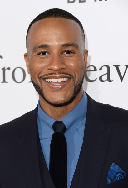 """Actor DeVon Franklin arrives at the Premiere of Columbia Pictures' """"Miracles From Heaven"""" at ArcLight Hollywood on March 9, 2016 in Hollywood, California."""