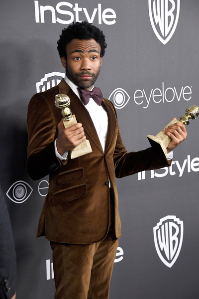 Donald Glover attends the 18th Annual Post-Golden Globes Party hosted by Warner Bros. Pictures and InStyle at The Beverly Hilton Hotel on January 8, 2017 in Beverly Hills, California.
