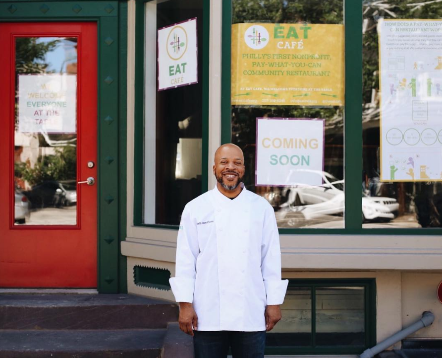 Eat Café's Donnell Jones-Craven.Instagram/Eat Café