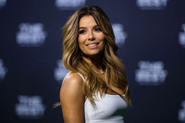 Presenter Eva Longoria arrives for The Best FIFA Football Awards 2016 on January 9, 2017 in Zurich, Switzerland.