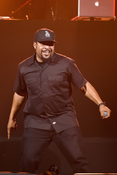 Ice Cube performs at KENZO x H&M Launch Event Directed By Jean-Paul Goude' at Pier 36 on October 19, 2016 in New York City.