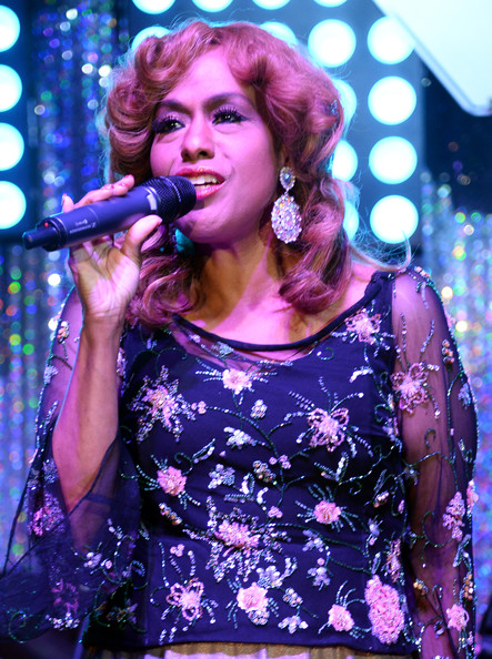 Singer Jennifer Holliday performs onstage during the Barnstable Brown Gala hosted by GREY GOOSE at Barnstable Brown House on May 2, 2014 in Louisville, Kentucky.