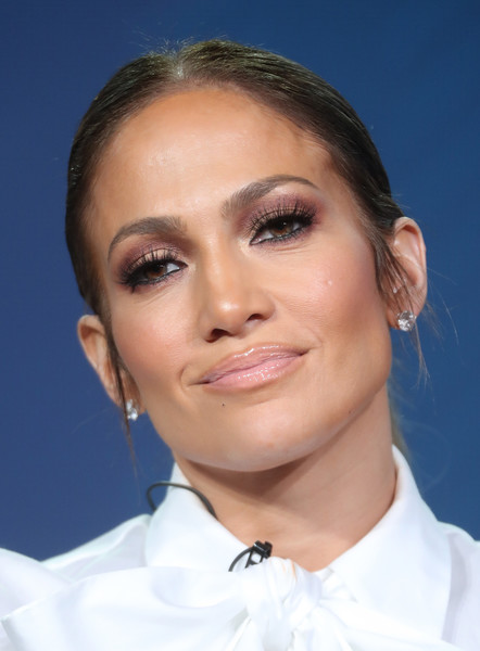 Actress Jennifer Lopez of the television show 'Shades of Blue' speaks onstage during the NBCUniversal portion of the 2017 Winter Television Critics Association Press Tour at the Langham Hotel on January 18, 2017 in Pasadena, California.