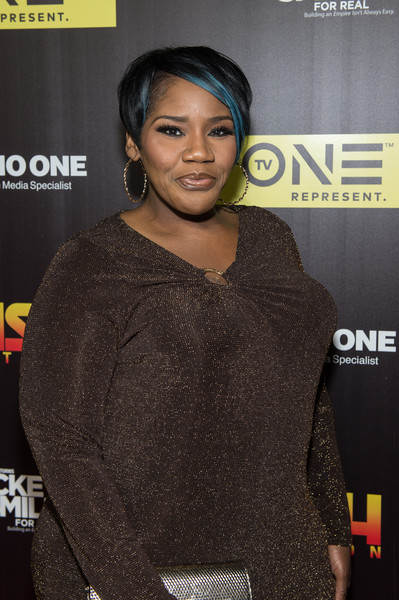 "Singer-songwriter Kelly Price attends TV One's ""Rickey Smiley For Real"" season 2 premiere at SCADshow on May 4, 2016 in Atlanta, Georgia."
