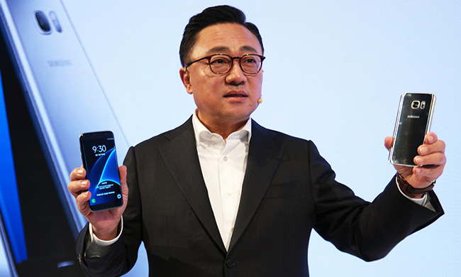 Koh Dong-jin, head of Samsung's mobile devices division