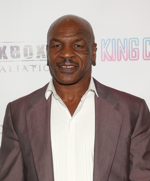 Mike Tyson attends AFM'16 The Exchange's 5 Year Anniversary Celebration on November 1, 2016 in Santa Monica, California.