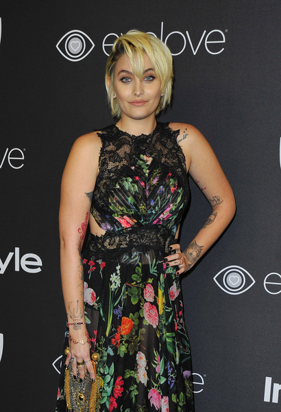 Paris Jackson attends the 18th Post-Golden Globes Party hosted by Warner Bros Pictures and InStyle at the Beverly Hilton Hotel on January 8, 2017 in Beverly Hills, California. / AFP / LILLY LAWRENCE