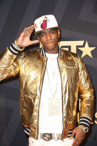 "Rapper Soulja Boy attends BET ""Music Moguls"" premiere event at 1OAK on June 27, 2016 in West Hollywood, California."