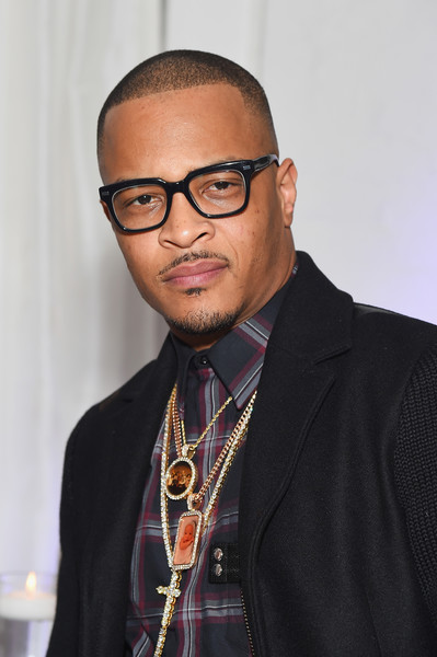 Rapper T.I. attends Young Jeezy's birthday dinner at Loft 29 on September 28, 2016 in New York City.