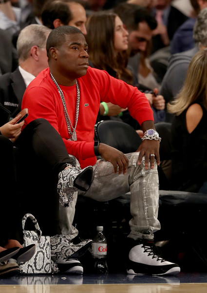Tracy Morgan attends the game between the New York Knicks and the Cleveland Cavaliers at Madison Square Garden on December 7, 2016 in New York City