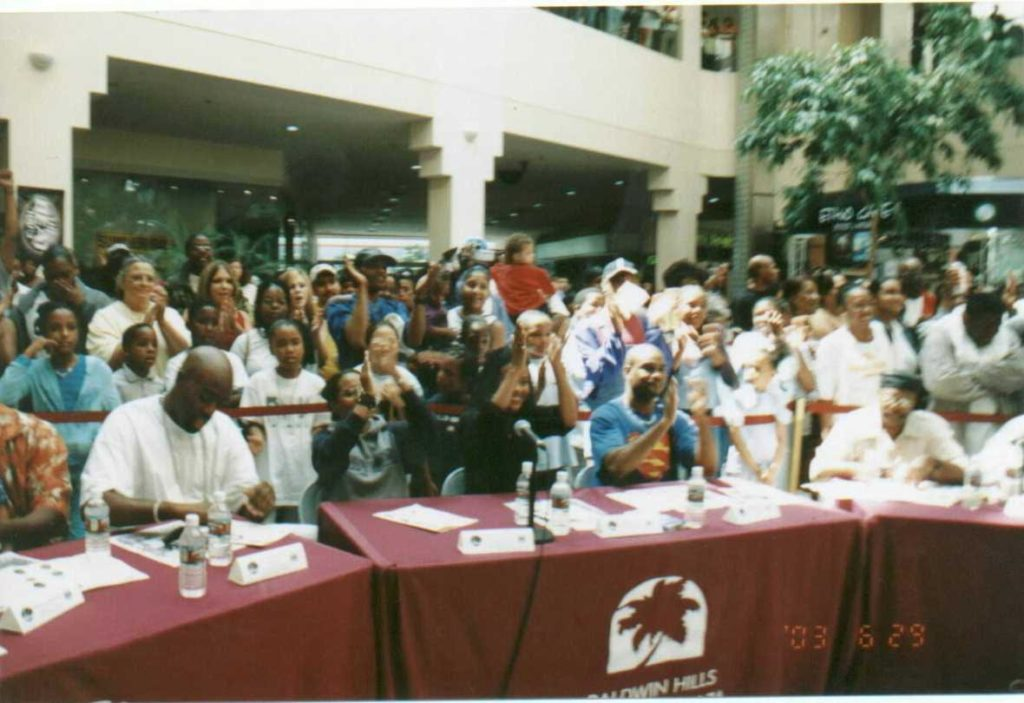 """""""Uplifting Minds II"""" Entertainment Conference at the Baldwin Hills Crenshaw Plaza in Los Angeles. (Photo Credit: Uplifting Minds II)"""
