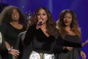 Chrisette Michele performs at Donald Trump's Inaugural Ball