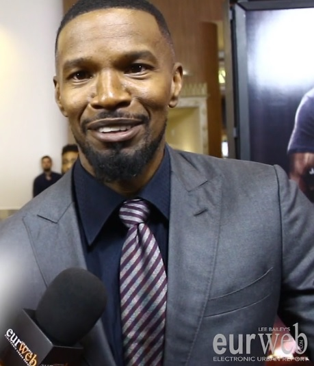 Jamie Foxx at 'Sleepless' movie premiere in Los Angeles
