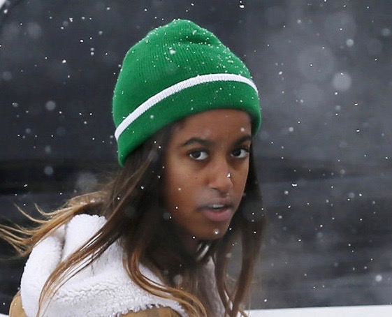 Malia Obama ditches Palm Springs for Sundance pipeline protest