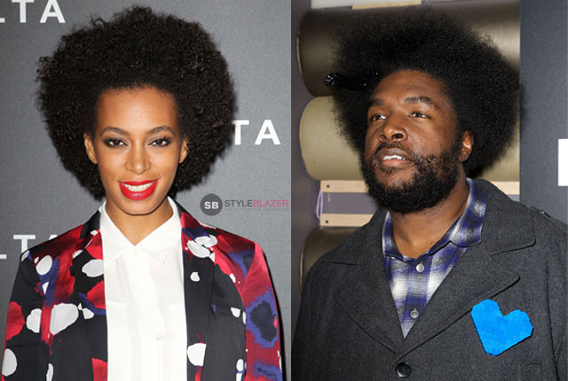 Solange and Questlove