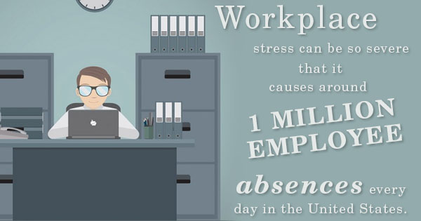 stress worker productivity