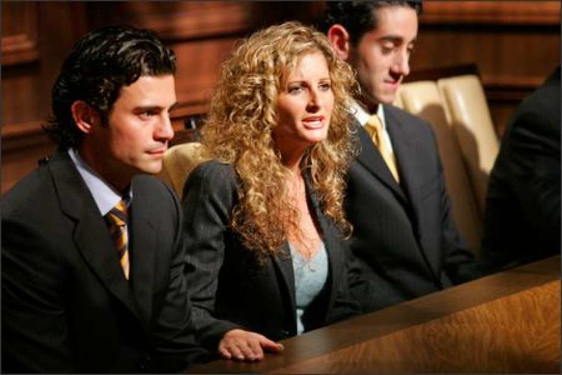 "Summer Zervos of Huntington Beach, a contestant on Season 5 of ""The Apprentice"""