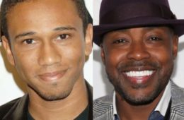 Aaron McGruder (L) and Will Packer