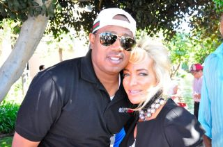 Master P and Simin Hashemizadeh