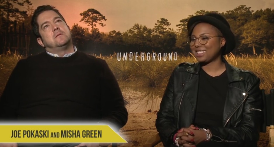 Joe Pokaski and Misha Green Creators and Executive Producers of WGNs 'Underground'