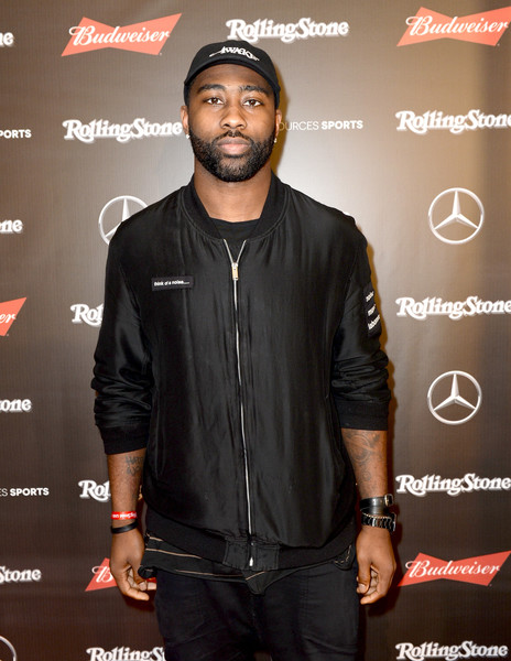 NFL player Darrelle Revis at the Rolling Stone Live: Houston presented by Budweiser and Mercedes-Benz on February 4, 2017 in Houston, Texas. Produced in partnership with Talent Resources Sports.