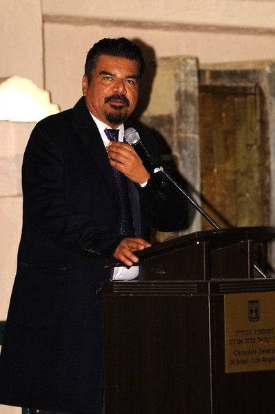 George Lopez attends Fiesta Shalom hosted by the Consulate General Of Israel at Tamayo Restaurant on November 20, 2016 in Los Angeles, California.