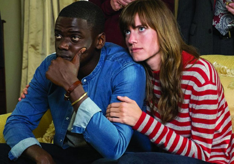 Chris (Daniel Kaluuya) contemplates his visit with girlfriend Rose (Allison Williams) in 'Get Out.'