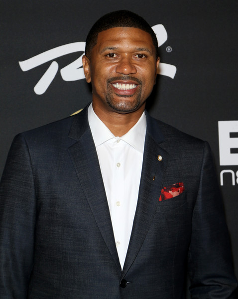 Former NBA player Jalen Rose attends The Players' Awards presented by BET at the Rio Hotel & Casino on July 19, 2015 in Las Vegas, Nevada.