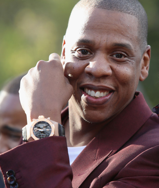 Jay-Z attends 2017 Roc Nation Pre-Grammy Brunch at Owlwood Estate on February 11, 2017 in Los Angeles, California.