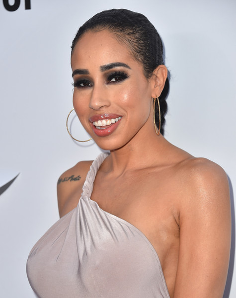 Recording artist Kay Cola attends the 2015 BMI R&B/Hip Hop Awards at Saban Theatre on August 28, 2015 in Beverly Hills, California.
