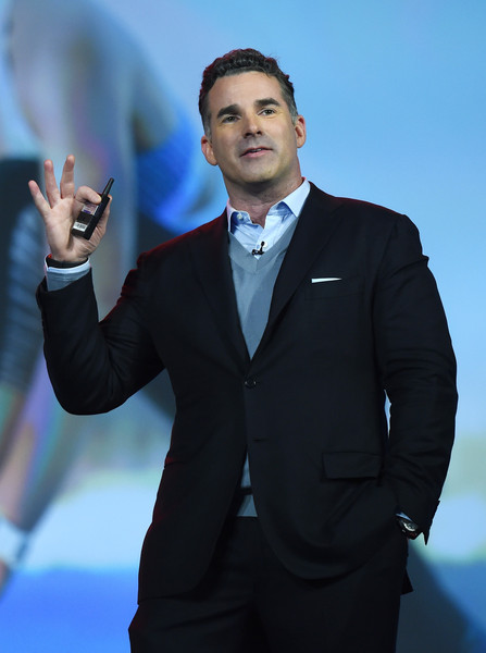 Under Armour Founder and CEO Kevin Plank speaks during a keynote address by IBM Chairman, President and CEO Ginni Rometty at CES 2016 at The Venetian Las Vegas on January 6, 2016 in Las Vegas, Nevada.