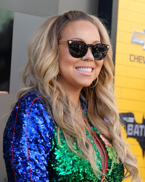Singer Mariah Carey attends the Los Angeles premiere of The Lego Batman Movie at the Regency Village Theatre in Westwood, California, on February 4, 2017. / AFP / CHRIS DELMAS