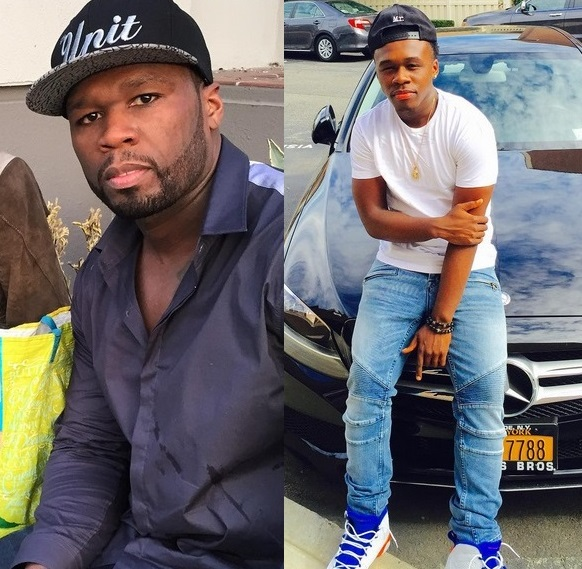 50 Cent and Marquise Jackson