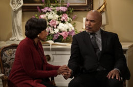 'The Carmichael Show'   Pictured: (l-r) Marla Gibbs and David Alan Grier (Photo by: Chris Haston/NBC)