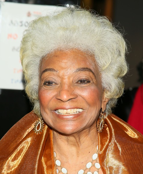 """Nichelle Nichols attends the World Premiere Screening of """"Unbelievable!!!!!"""" A Sci-Fi Adventure Parody in Hollywood, California, on September 7, 2016. / AFP / JEAN BAPTISTE LACROIX"""