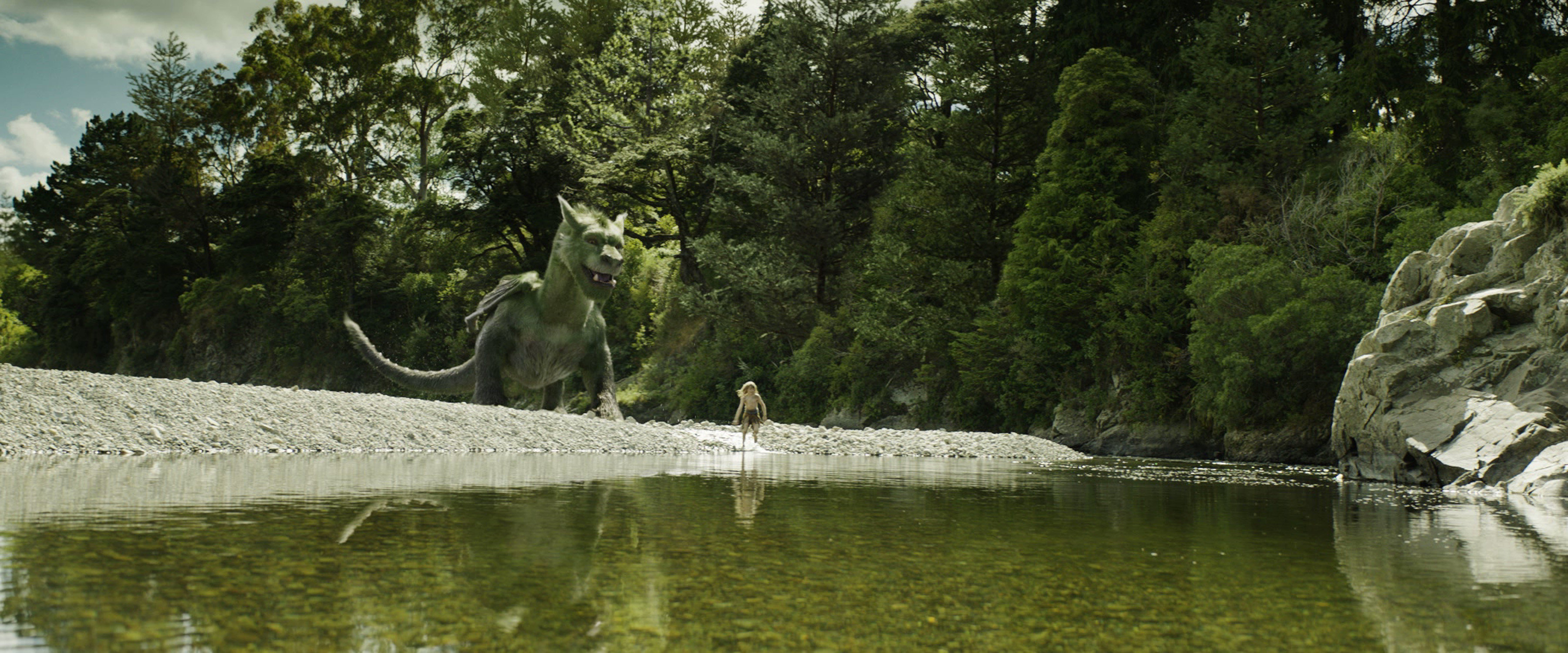 A re-imagining of Disney's cherished film, PETE'S DRAGON is the story of a boy named Pete (Oakes Fegley) and his best friend Elliot, who just happens to be a dragon. Photo Credit: © 2016 Disney Enterprises, Inc. All Rights Reserved.