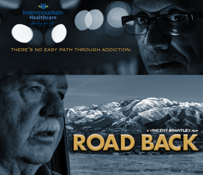 The Road Back is Executive Produced by Tom Olson, Produced by Vincent Brantley, and Co-Produced by Lou Kleinman and Peter Allen. The Road Back also supported by Intermountain Healthcare